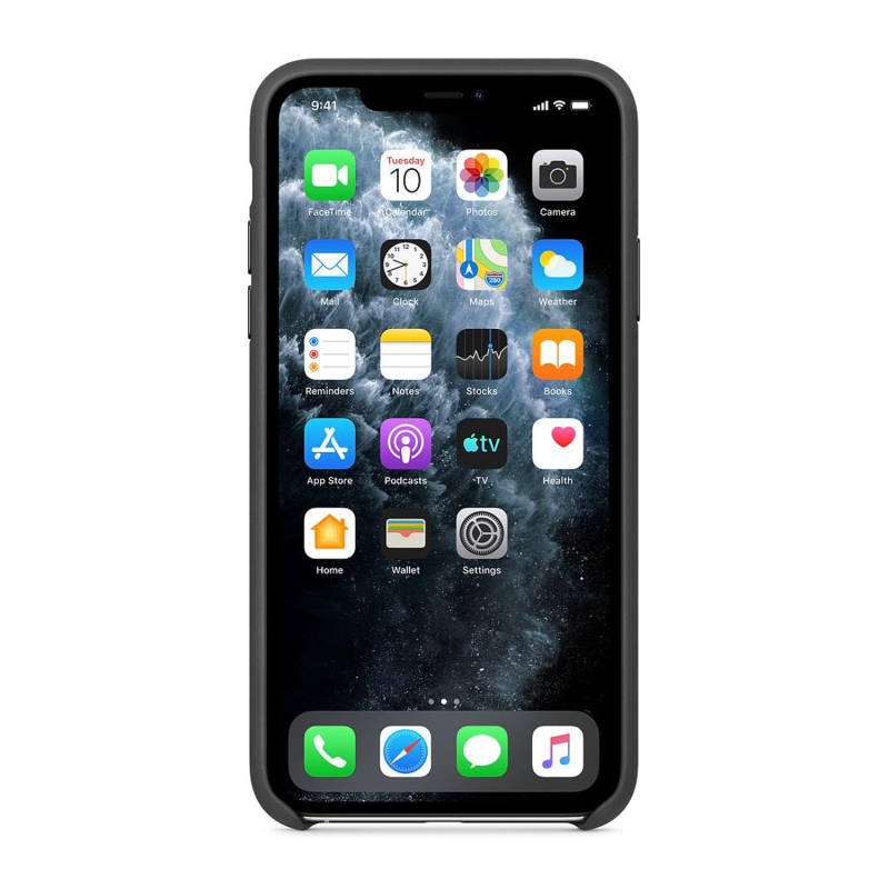 APPLE Leather Case für iPhone 11 Pro Max Black