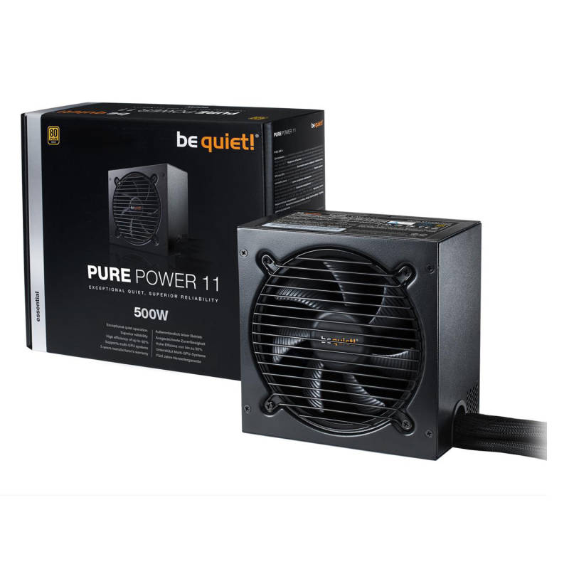 BE QUIET! Pure Power 11 500W 80 Plus Gold