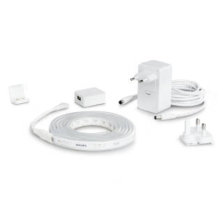 PHILIPS HUE White and Color Ambiance LED Lichtstreifen Basis Set 2m