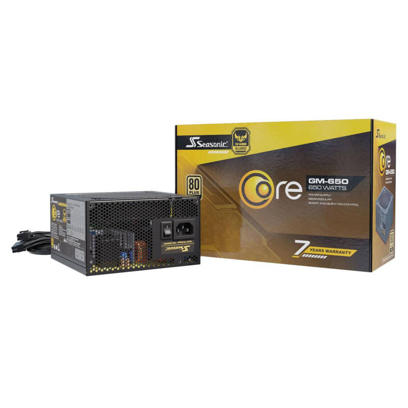 SEASONIC Core GM 650W 80 Plus Gold