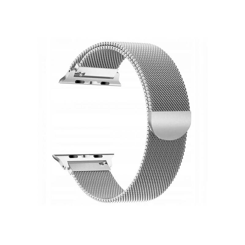 TECH-PROTECT Band Milaneseband für Apple Watch Silver